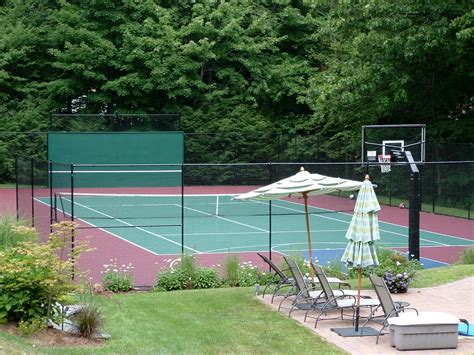 Backyard Tennis Courts by Triyae How To Make Tennis Court In Backyard