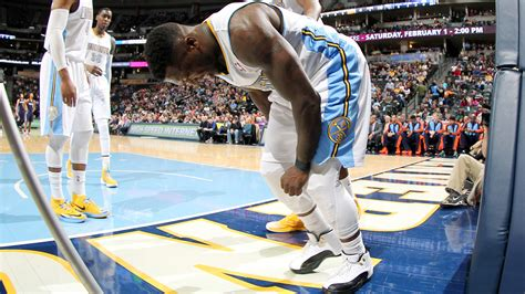 nate robinson bench press nate robinson of denver nuggets to miss rest of season