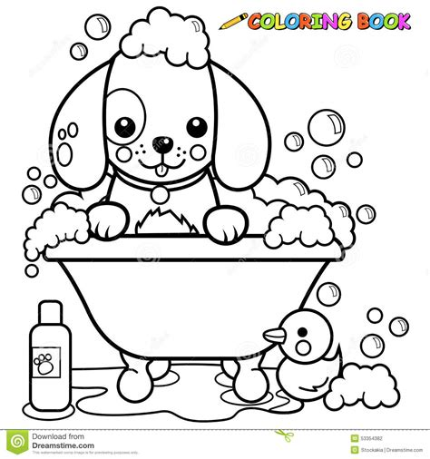 solitude grayscale photo coloring book books taking a bath coloring page stock vector image 53354382