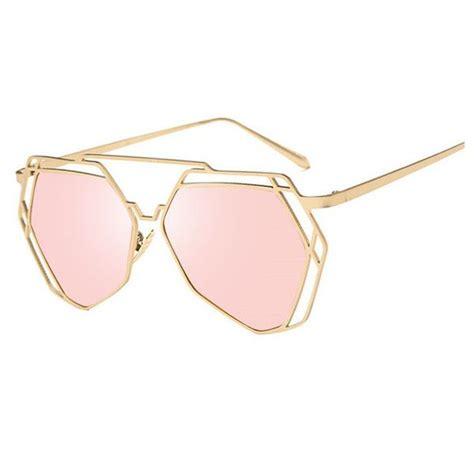 Geometry Sunglasses geometry cat eye steunk sunglasses liked on polyvore