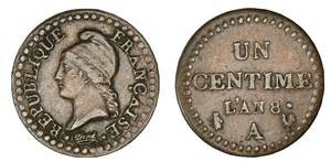 Marvelous Ou Trouver De L Ammoniaque #9: Centime-dupre-revolution.jpg