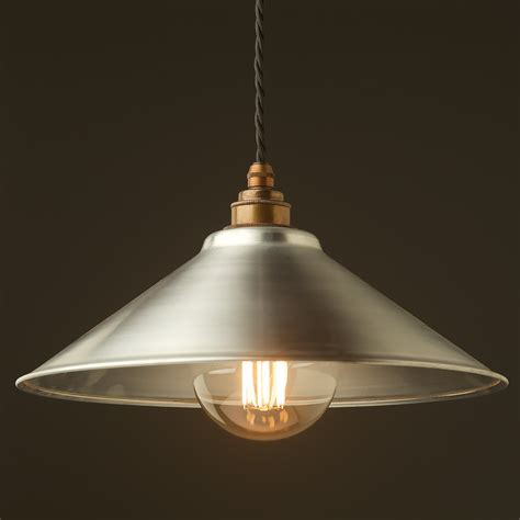 metal pendant light shades galvanised steel light shade 310mm pendant