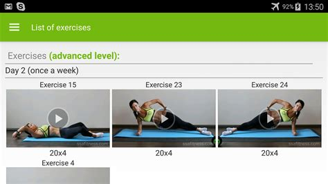 free abs workout exercises android apps on play