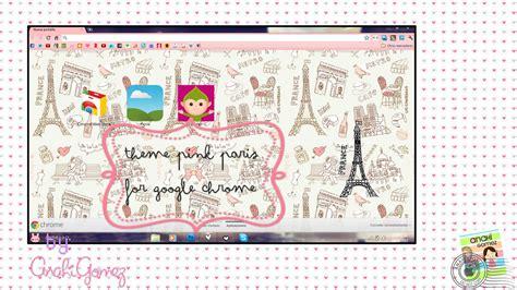 themes google chrome pink pink paris theme for google chrome by anahiigomez on