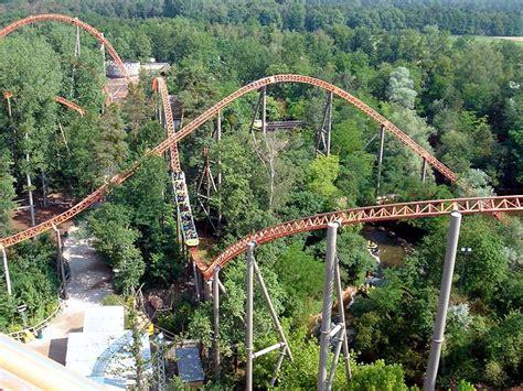 theme park holidays europe expedition geforce roller coaster photos