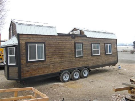 tiny house deck unique off grid barn style tiny house with roof deck and 4