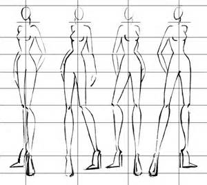 The average adult is 7 1 2 heads tall a fashion figure is at least 9