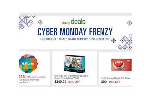 cyber monday deals on wii u
