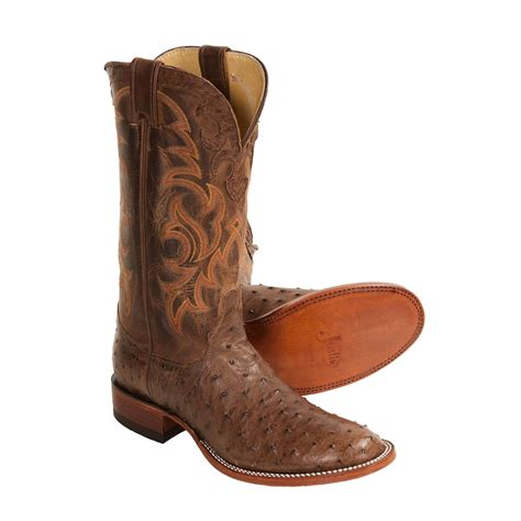 justin boots for justin boots quill ostrich cowboy boots for