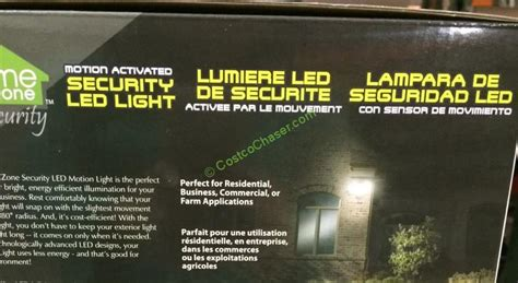 security light with costco costco 962680 led security light motion activated use