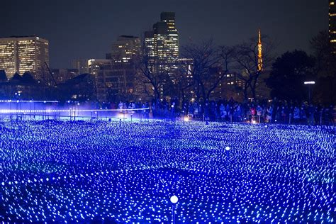 tokyo christmas and christmas lights