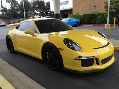 Porsche Gt3 3 8 2014 Yellow gt3rs pts speed yellow thoughts rennlist porsche