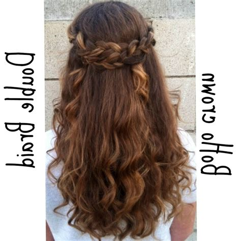 down hairstyles for prom with braid half up half down prom hairstyle ideas magazine