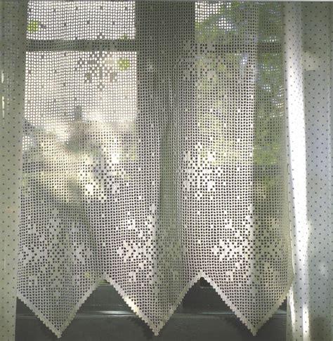 Curtain Patterns Filet Crochet Curtain Patterns Window Treatments Design
