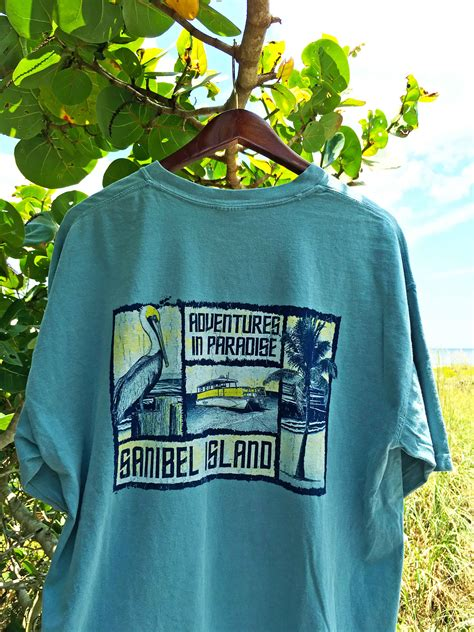 comfort colors tshirts sanibel adventure t shirt adventures in paradise