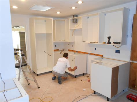 kitchen cabinet installation kitchen installation duncan s cabinets