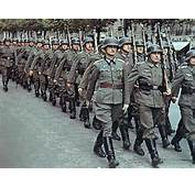 World War II Pictures In Details A Column Of German Wehrmacht Paraded