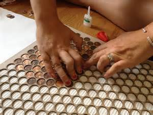 penny tiles: copper penny tile jig the made shop