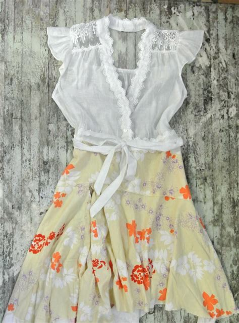Country Shabby Chic Dress Cottage Chic Autumn Clothing Shabby Chic Attire