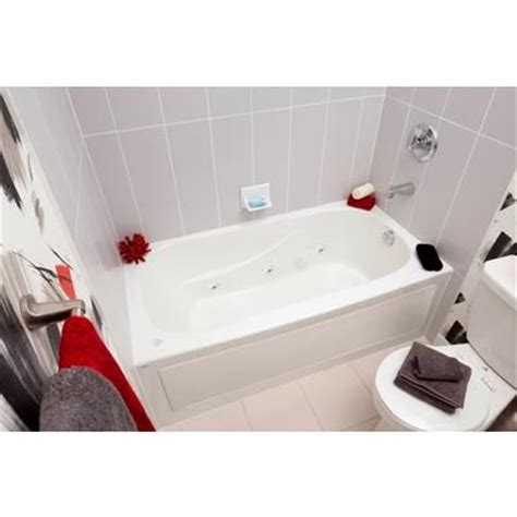 mirolin bathtub mirolin sydney acrylic skirted whirlpool tub 60 inch x