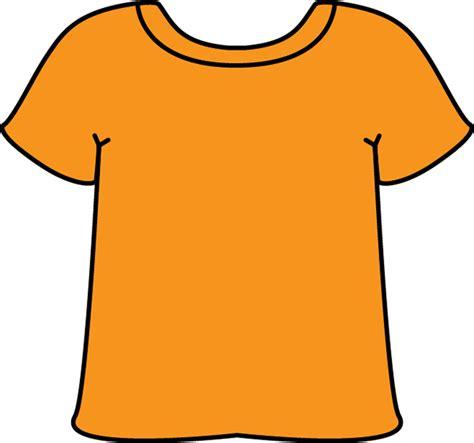 Tshirt Orange orange t shirt clipart