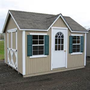 Little cottage 16 x 12 ft classic wood cottage panelized garden shed