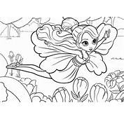 Coloring Page Barbie For Kids  Print And