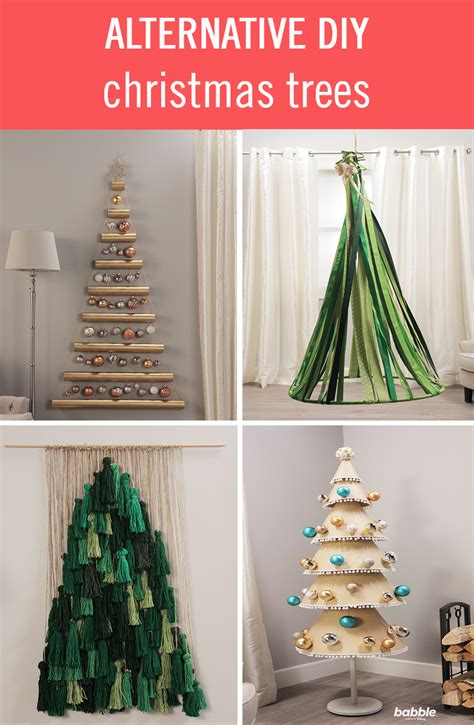 free alternatives to a christmas tree alternative diy trees babble