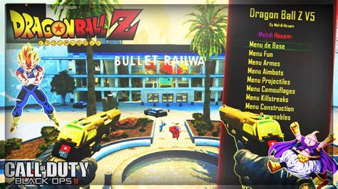 game dragon ball online mod java le mod menu dragon ball z v5 sur bo2 youtube