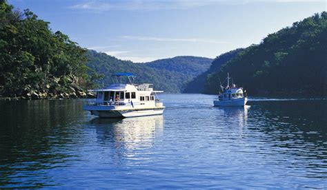 hawkesbury house boats sail the hawkesbury postman s run australian traveller