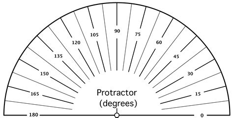 printable protractor to scale worksheet protractor print grass fedjp worksheet study site
