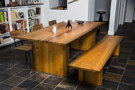 wooden slab table live edge wood slab tables and furniture re co bklyn