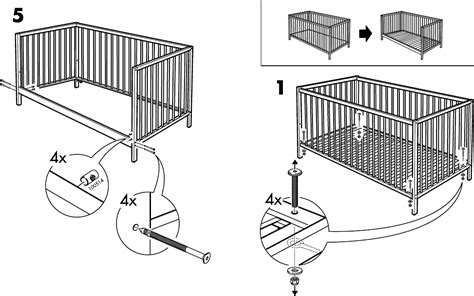 sniglar page 3 of crib assembly
