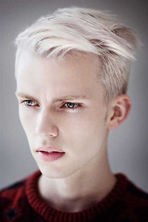 haircuts blonde guys 15 blonde hairstyles for guys mens hairstyles 2018