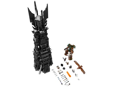 Lego The Lord Of The Rings 10237 Tower Of Orthanc the tower of orthanc 10237 the lord of the rings brick browse shop lego 174