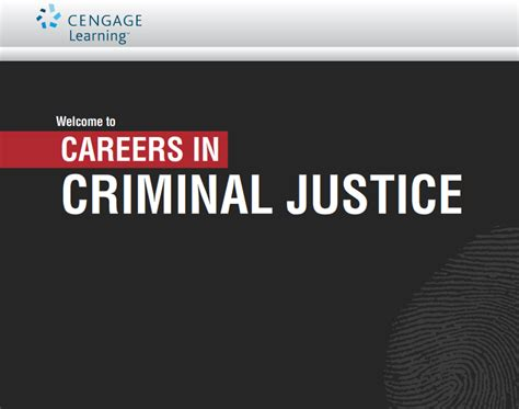 criminal justice in careers in criminal justice