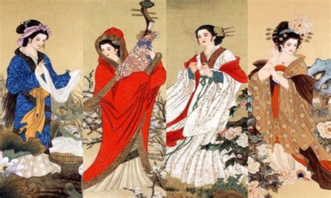 film dinasti china empat wanita cantik tiongkok tionghoa tradisi dan budaya