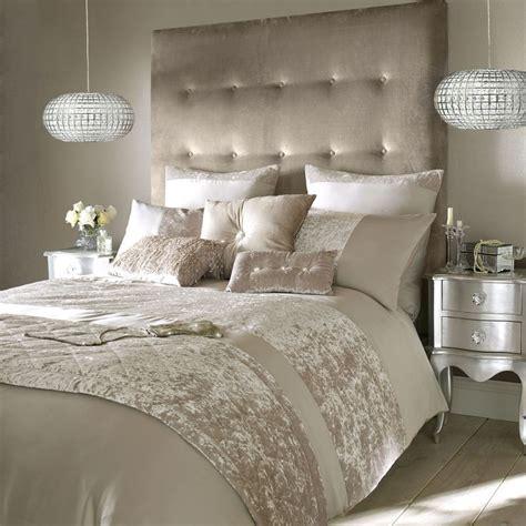 crushed velvet final small  champagne bedroom