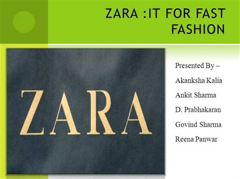 Zara Authorstream Zara Ppt Template