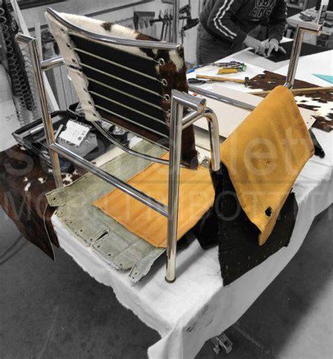 poltrona lc1 restauro modernariato restauro poltrone e divani in pelle