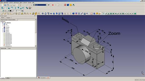 online tutorial of autocad freecad tutorial 18 kamera youtube