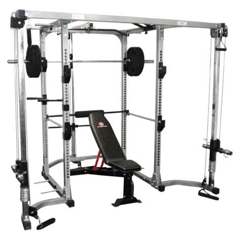 Squat Rack Package by Revolution Power Cage Combo Package Southside Fitness