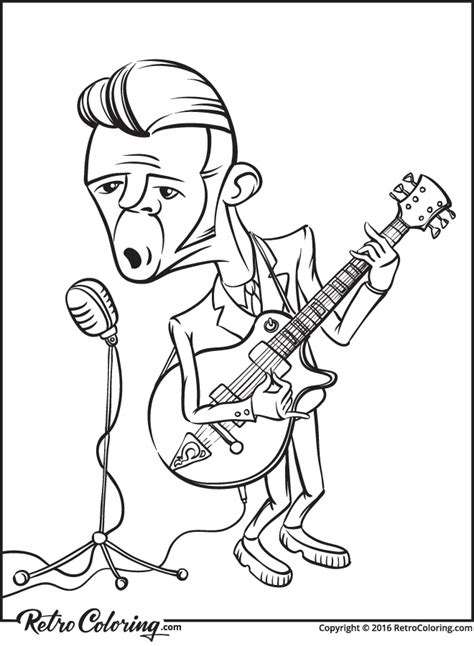 The Minnesota Vikings Rock Coloring Page Coloring Page Rock Rock N Roll Coloring Pages