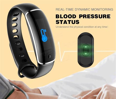 LYNWO M4 Health Blood Pressure Band Heart Rate Monitor Wristband Bracelet Sale   Banggood.com