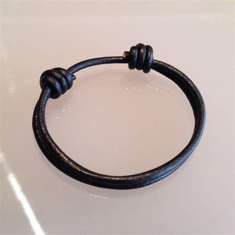 pulseras nudos pulsera de cuero para caballeros con nudos ajustables bs