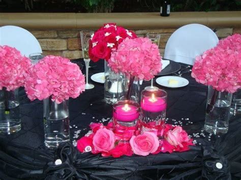 Pink And Black Wedding Ideas by 17 Best Images About Pink And Black Wedding Ideas On
