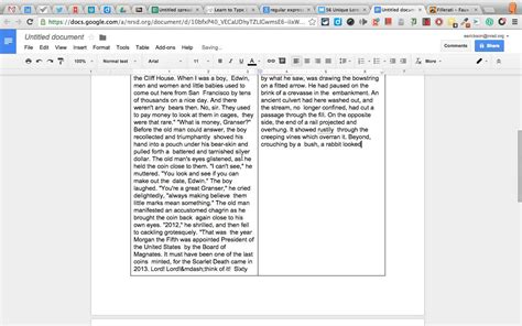 book layout google docs multiple columns in google docs youtube