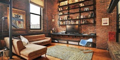 Attrayant Idee Deco Cuisine Ouverte Sur Salon #9: Deco-loft-new-yorkais-id%C3%A9e-cr%C3%A9atif-salon.jpg