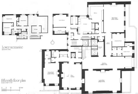 740 park avenue floor plans 740 park avenue ny 1921 rosario candela the rockerfeller apartment lower floor plan the