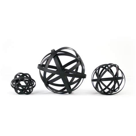 decorative orbs spheres decor accents